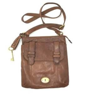 Fossil Reissue Leather Crossbody Vintage Purse